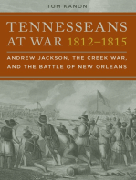 Tennesseans at War, 1812–1815