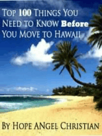 Top 100 Things You Need to Know Before You Move to Hawaii