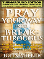 Pray Your Way Into Breakthroughs