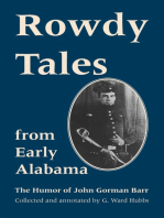Rowdy Tales from Early Alabama