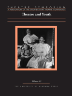 Theatre Symposium, Vol. 23: Theatre and Youth