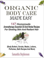 Organic Body Care Made Easy
