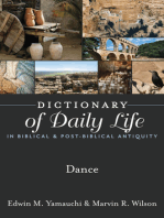 Dictionary of Daily Life in Biblical & Post-Biblical Antiquity: Dance