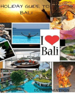 Holiday Guide to Bali