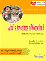 Alice's Adventures in Wonderland (ESL/EFL Version)