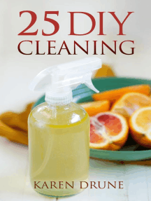 25 DIY Cleaning Recipes