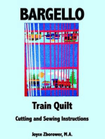Bargello Train Quilt -- Cutting and Sewing Instructions