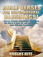 Bible Verses for Supernatural Blessings!