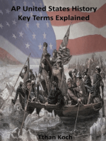 AP United States History Key Terms Explained