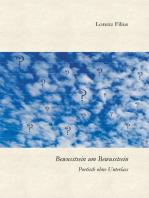 Bewusstsein um Bewusstsein: Poetisch ohne Unterlass