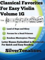 Classical Favorites for Easy Violin Volume 1 G