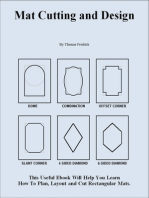 Mat Cutting and Design