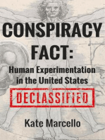 Conspiracy Fact: Human Experimentation in the United States (Conspiracy Facts Declassified, #1)
