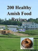 200 Healthy Amish Food Recipes