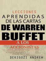 Lecciones aprendidas de las cartas de Warren Buffet a los accionistas
