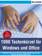 1000 Tastenkürzel für Windows und Office