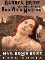Mail Order Bride The Barren Bride Claimed By Her Bad Wild Marshal