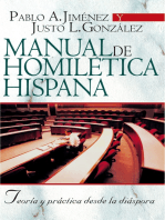 Manual de Homilética Hispánica
