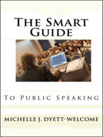 The SMART Guide to Public Speaking Ebook