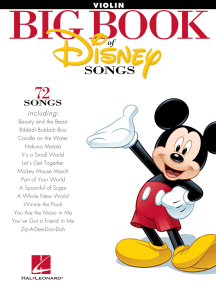 The Big Book of Disney Songs: Violin
