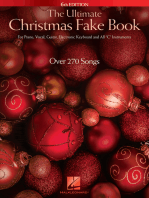 The Ultimate Christmas Fake Book - 6th Edition: for Piano, Vocal, Guitar, Electronic Keyboard & All C Instruments