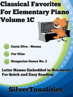 Classical Favorites for Elementary Piano Volume 1 C