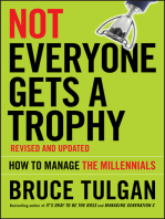 Not Everyone Gets A Trophy