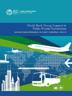 World Bank Group Support to Public-Private Partnerships: Lessons from Experience in Client Countries, FY02-12