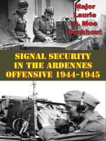 Signal Security In The Ardennes Offensive 1944-1945