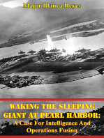 Waking The Sleeping Giant At Pearl Harbor