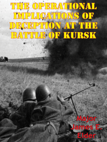 The Operational Implications Of Deception At The Battle Of Kursk
