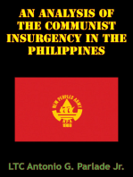 An Analysis Of The Communist Insurgency In The Philippines