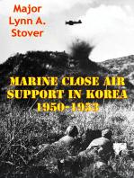 Marine Close Air Support In Korea 1950-1953