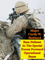 Base Defense At The Special Forces Forward Operational Bases