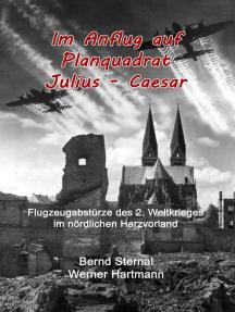 Im Anflug auf Planquadrat Julius - Caesar: Flugzeugabstürze des 2. Weltkrieges im nördlichen Harzvorland