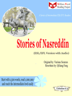 Stories of Nasreddin (ESL/EFL Version)