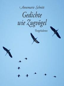 Gedichte wie Zugvögel: Festgehaltenes