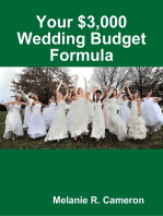 Your $3,000 Wedding Budget Formula