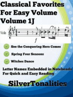 Classical Favorites for Easy Violin Volume 1 J
