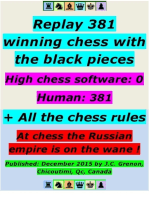 Replay 381 Winning Chess With the Black Pieces - High Chess Software