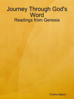Journey Through God's Word - Readings from Genesis