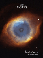 2015 Notes of Mark Orava; The Second Annual