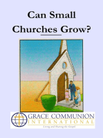 Can Small Churches Grow?