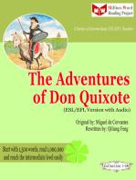 The Adventures of Don Quixote (ESL/EFL Version)