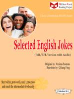 Selected English Jokes (ESL/EFL Version)