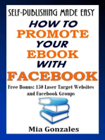 How To Promote Your e-Book With Facebook
