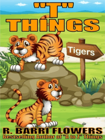 """""""T"""" Things (A Children's Picture Book)"""