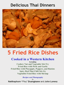 5 Fried Rice Dishes