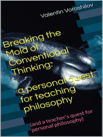 Breaking The Mold of Conventional Thinking