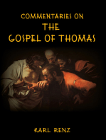 Commentaries On The Gospel Of Thomas
